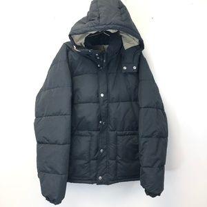 Old Navy Men's Black XXL Puffer Coat NWT